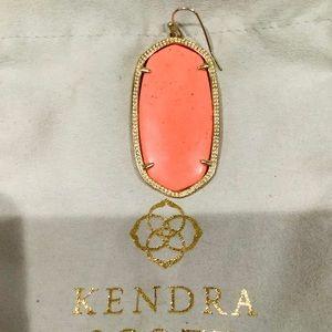 Authentic KENDRA SCOTT Coral Danielle Earring